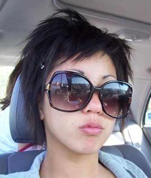 Goth Rocker Chick  Celeb Hairstyle